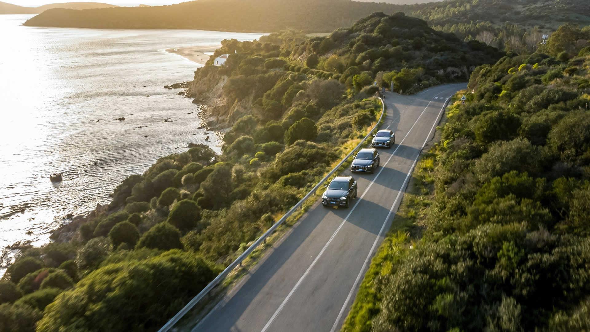 Audi Gamma Q, rotta verso Sud